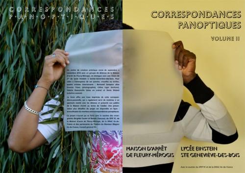 Correspondances panoptiques, volume II. Couverture du livret à venir.