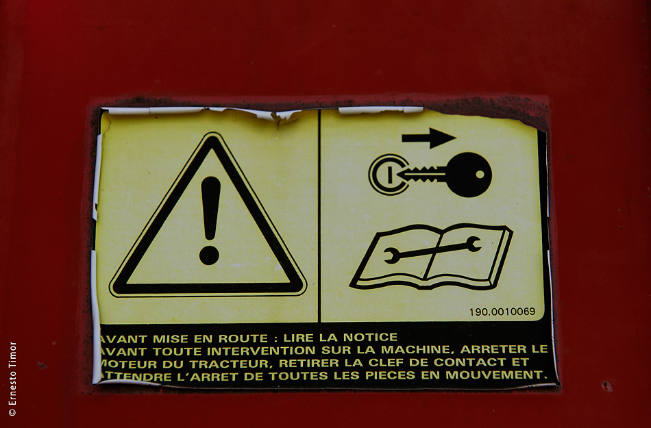 Photo © Ernesto Timor - Avant mise en route, lire la notice