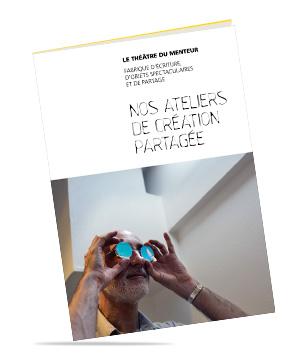 """Brochure """"Nos ateliers de création partagée"""""""