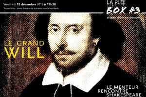 Ruée dans les box #3, décembre 2015:<br/>Le grand Will