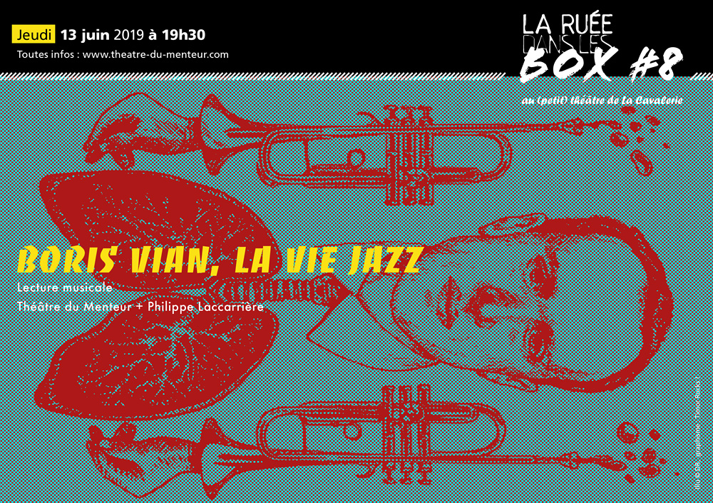 Ruée dans les box #8, juin 2019 <br/>Boris Vian, la vie jazz