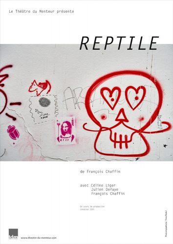 Reptile, Théâtre du Menteur - photo et graphisme © Timor Rocks