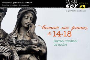Ruée dans les box #3, janvier 2020 – Honneur aux femmes de 14-18