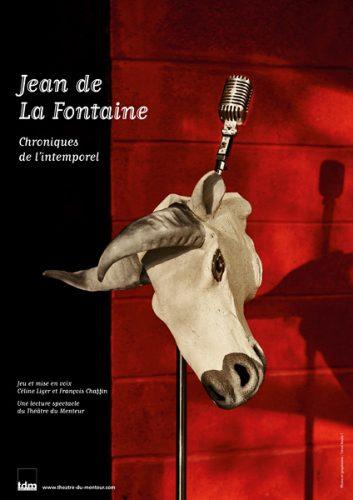 Jean de la Fontaine, chroniques de l'intemporel, lecture-spectacle du Théâtre du Menteur - Photo et graphisme © Timor Rocks !